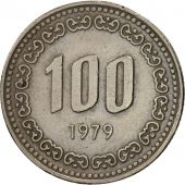 KOREA-SOUTH, 100 Won, 1979, TTB+, Copper-nickel, KM:9