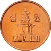 KOREA-SOUTH, 10 Won, 2008, KOMSCO,SUP+,Copper Clad Aluminum,KM:103