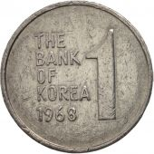 KOREA-SOUTH, Won, 1968, TTB, Aluminium, KM:4a