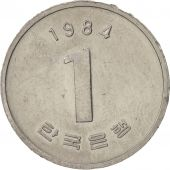 KOREA-SOUTH, Won, 1984, TTB+, Aluminium, KM:31