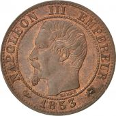 Second Empire, 1 Centime Napoléon III tête nue 1853 D, KM 775.4