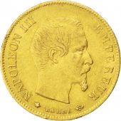 Second Empire, 10 Francs or Napol�on III t�te nue 1859 BB, KM 784.4