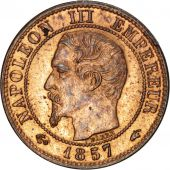 Second Empire, 1 Centime Napoléon III tête nue 1857 A, KM 775.1