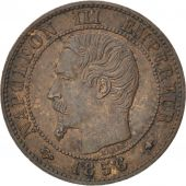 Second Empire, 1 Centime Napoléon III tête nue 1856 BB, KM 775.3