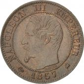 Second Empire, 1 Centime Napoléon III tête nue 1857 K, KM 775.5
