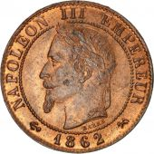 Second Empire, 1 Centime Napoléon III tête laurée 1862 K, KM 795.3