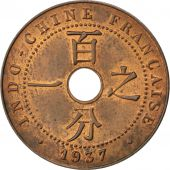 Indochine, 1 Cent 1937 A, KM 12.1