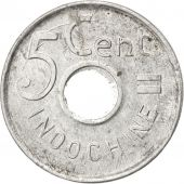 Indochine, 5 Cent 1943, KM 27