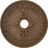 Indochine, 1 Cent 1898 A, KM 8