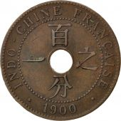 Indochine, 1 Cent 1900 A, KM 8