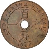 Indochine, 1 Cent 1908 A, KM 12.1
