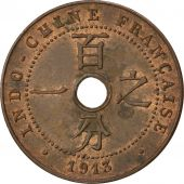 Indochine, 1 Cent 1913 A, KM 12.1