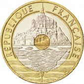 Vème République, 20 Francs Mont Saint-Michel 1999, KM 1008.2