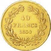 Louis-Philippe, 40 Francs Or 1834 A, KM 747.1