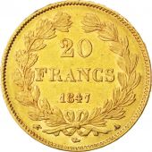 Louis-Philippe, 20 Francs Or 1847 A, KM 750.1