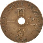 Indochine, 1 Cent 1919 A, KM 12.1