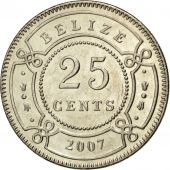 Belize, 25 Cents 2007, KM 36
