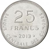 Comores, République, 25 Francs 2013, KM New
