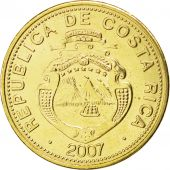 Costa Rica, République, 25 Colones 2007, KM 229