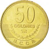 Costa Rica, République, 50 Colones 2007, KM 231.1b