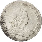 Louis XV, 1/3 Ecu de France 1721 D, KM 457.6