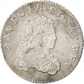 Louis XV, 1/3 Ecu de France 1721 H, KM 457.9