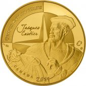 Vème République, 50 Euro Or Jacques Cartier 2011, KM 1796