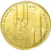 Vème République, 5 Euro Or Europa 2014, KM New