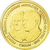 Iles Falkland, Elisabeth II, 1/64 Crown Or 2011, KM New