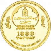 Mongolie, 1000 Tugrik Or 2006, KM New