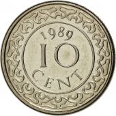 Surinam, 10 Cents 1989, KM 13a