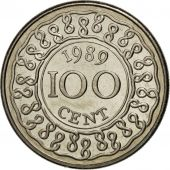 Surinam, 100 Cents 1989, KM 23
