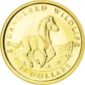 Iles Cook, Elisabeth II, 25 Dollars Or Cheval 1992, KM 138