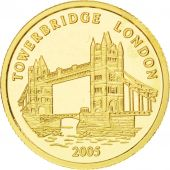 Togo, République, 1500 Francs Or Towerbridge 2005, KM New