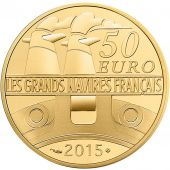 France, Monnaie de Paris, 50 Euro Or La Gironde 2015