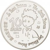 France, Monnaie de Paris, 10 Euro Le Petit Prince - Essentiel invisible 2015