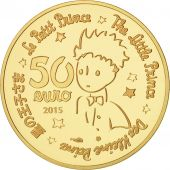 France, Monnaie de Paris, 50 Euro Or Le Petit Prince - Essentiel invisible 2015