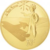 France, Monnaie de Paris, 50 Euro Or Le Petit Prince - Etoiles Guides 2015