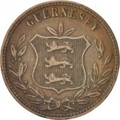 Guernesey, Victoria, 8 Doubles 1874, KM 7
