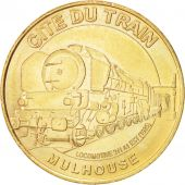 Jeton, Cité du Train, Locomotive 241 A1 EST, Mulhouse, Monnaie de Paris, 2006