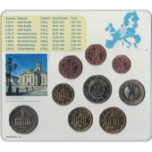 Germany, 5 x Euro Set of 9 coins, 5 Mints, 2009 ADFGJ