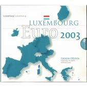 Luxembourg, Euro Set of 8 coins, 2003