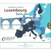 Luxembourg, Euro Set of 10 coins, 2007