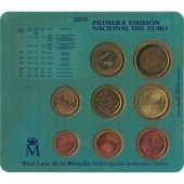 Spain, Euro Set of 8 coins, 2000