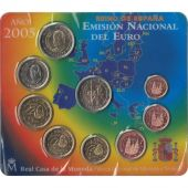 Spain, Euro Set of 9 coins, 2005