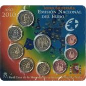 Spain, Euro Set of 9 coins, 2007