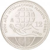 Spain, 12 Euro, 2008, Madrid, KM:1195, MS(63), Silver