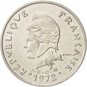 French Polynesia, 20 Francs, 1972, Paris, TTB, Nickel, KM:9