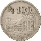 Indonesia, 100 Rupiah, 1973, EF(40-45), Copper-nickel, KM:36