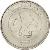 Lebanon, 500 Livres, 2000, SPL, Nickel plated steel, KM:39